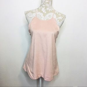 Altard State Scallop Edge Tank Top Blouse Large